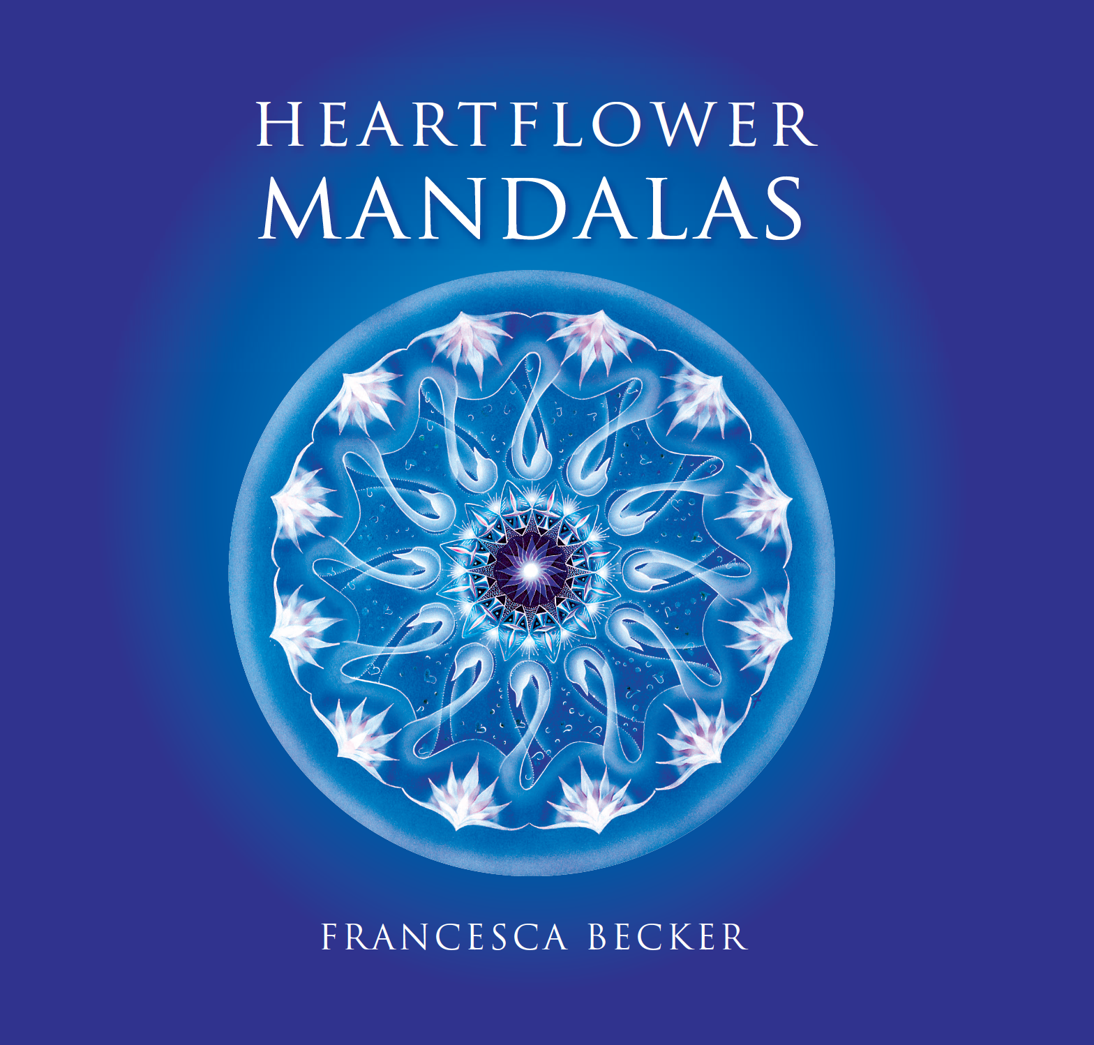 Heartflower Mandalas Book Cover